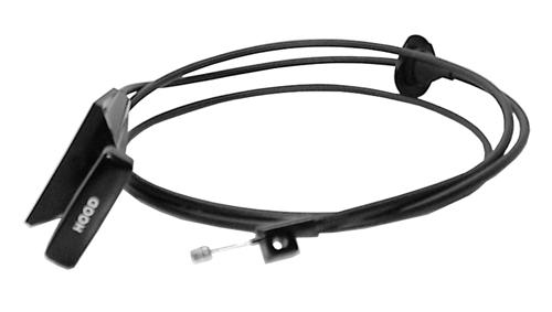 1983-93 MUSTANG HOOD RELEASE CABLE, EXACT REPRODUCTION