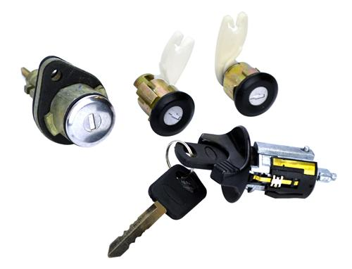 Mustang Ignition, Door And Trunk Lock Set (94-95)