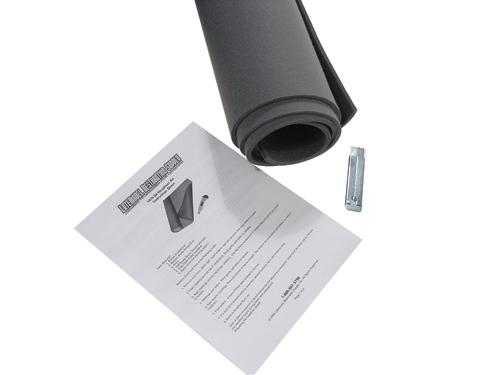 Mustang Headliner Material Dark Gray (84-86) - Picture of Mustang Headliner Material Dark Gray (84-86)