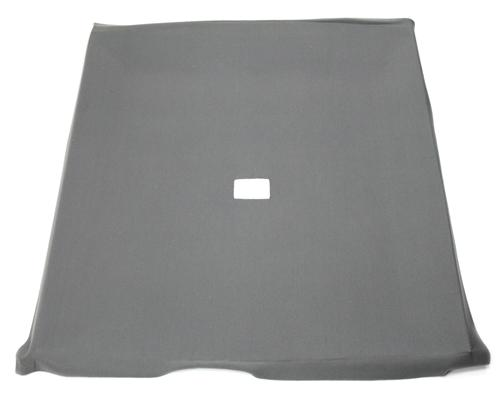 Mustang Cloth Headliner with Abs Board Dark Gray Cloth (84-86) Hatchback with T-Tops - Picture of Mustang Cloth Headliner with Abs Board Dark Gray Cloth (84-86) Hatchback with T-Tops