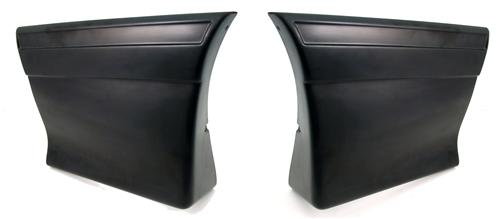 Mustang  Rear Quarter Panel Molding Kit (87-93)