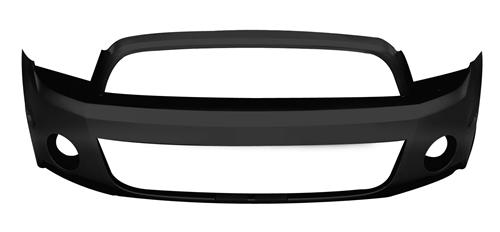 Ford Mustang GT500 Front Bumper Cover (10-14)