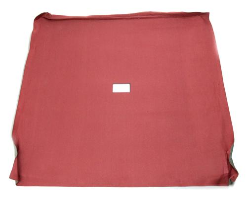 Mustang Headliner with Abs Board Canyon Red Cloth  (85-86) Coupe  - Picture of Mustang Headliner with Abs Board Canyon Red Cloth  (85-86) Coupe