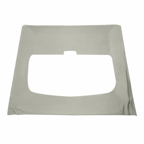 Mustang Cloth Headliner w/ ABS Board Light Gray (84-86) Hatchback w/ Sunroof