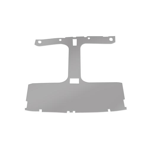 Mustang Cloth Headliner w/ ABS Board Light Gray (84-86) Hatchback w/ T-Tops