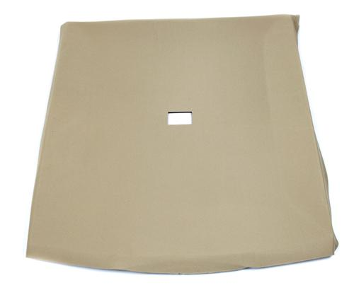 Mustang Headliner with Abs Board Sand Beige Cloth (85-86) Coupe  - Picture Mustang Headliner with Abs Board Sand Beige Cloth (85-86) Coupe