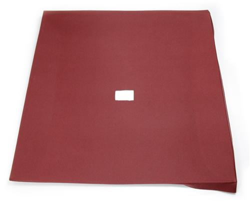 Mustang Headliner with Abs Board Scarlet Red Cloth (87-91) Coupe - Picture of Mustang Headliner with Abs Board Scarlet Red Cloth (87-91) Coupe