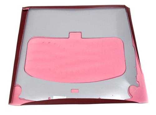 Mustang Sunroof Headliner with Abs Board Scarlet Red Vinyl (87-92) Hatchback - Pictures of Mustang Sunroof Headliner with Abs Board Scarlet Red Vinyl (87-92) Hatchback