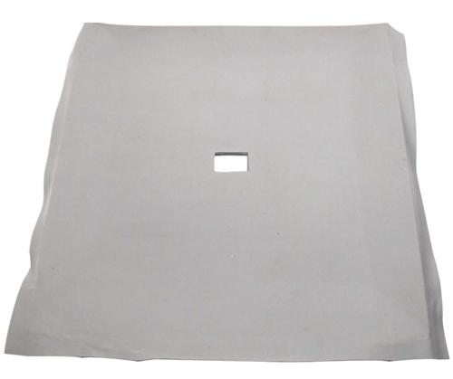 Mustang Headliner with Abs Board Titanium Gray Cloth (90-92) Hatchback - Picture of Mustang Headliner with Abs Board Titanium Gray Cloth (90-92) Hatchback