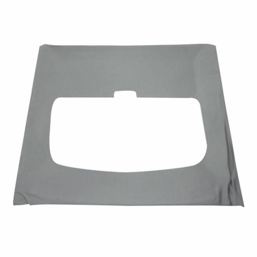 Mustang Vinyl Headliner w/ ABS Board Titanium Gray (90-92) Hatchback w/ Sunroof - Mustang Vinyl Headliner w/ ABS Board Titanium Gray (90-92) Hatchback w/ Sunroof