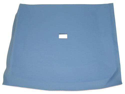 Mustang Headliner with Abs Board Crystal Blue Cloth (90-91) Coupe - Picture of Mustang Headliner with Abs Board Crystal Blue Cloth (90-91) Coupe