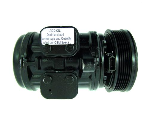 Mustang Remanufactured A/C Compressor with Clutch (82-93) 5.0