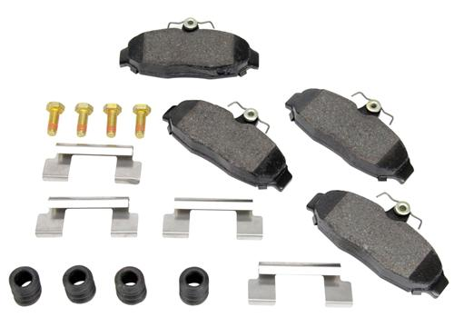 Mustang Replacement Rear Brake Pads (1993) Cobra - Picture of Mustang Replacement Rear Brake Pads (1993) Cobra
