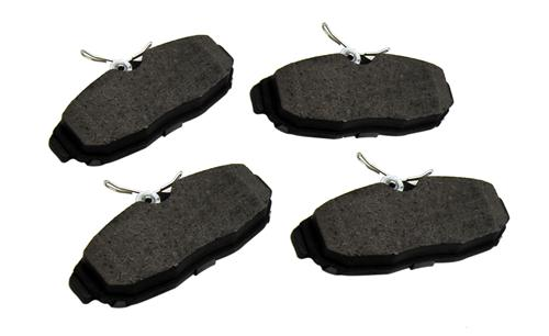 2005-14 Mustang Rear Brake Pads, Service Grade - Brake Pads Photo