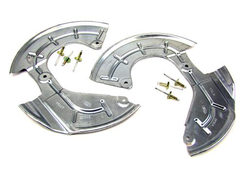 Mustang Front Brake Rotor Dust Shield Kit (94-04)