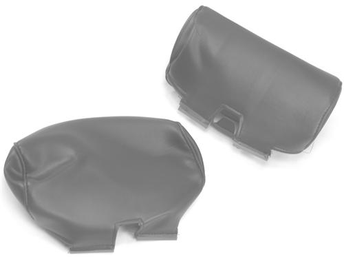 TMI Mustang Large Headrest Pair Medium Graphite (2004)