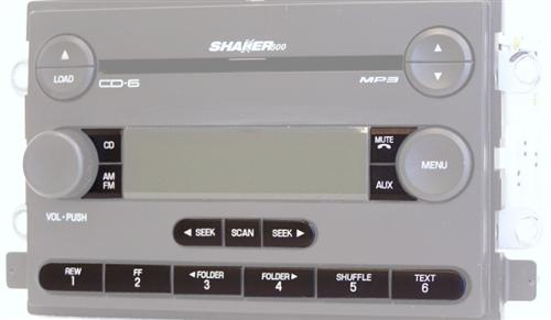 2005-2006 Mustang Radio Button Restoration - Picture of 2005-2006 Mustang Radio Button Restoration