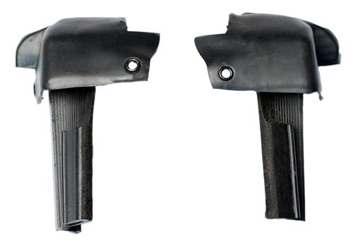 Mustang Convertible & T-Top Rear Of Door Run Channel Seals (81-88)