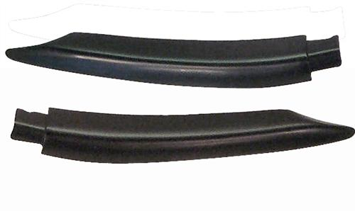 87-93 MUSTANG CONVERTIBLE DOOR BELT MOLDING EXTENSIONS