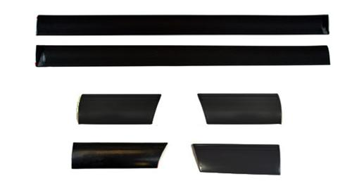 1987-93 Mustang Body Side Molding Set, 6 Piece