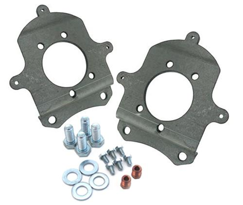 Mustang Rear Disk Brake Caliper Adapter Brackets For 94-04 GT/V6 Calipers (79-93)