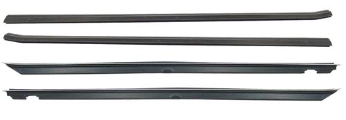 Mustang Inner And Outer Door Belt Weatherstrip Kit (87-93)