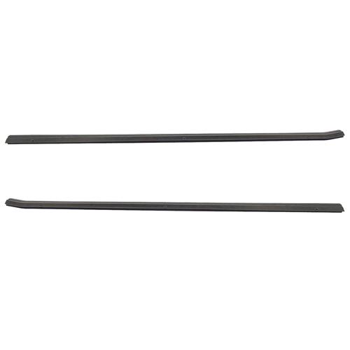 87-93 MUSTANG OUTER DOOR BELT WEATHERSTRIP PAIR, EXCEPT 88-93 CONVERTIBLE