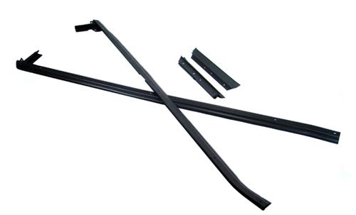 Mustang Outside Door And Quarter Belt Weatherstrip Kit (87-93) Convertible