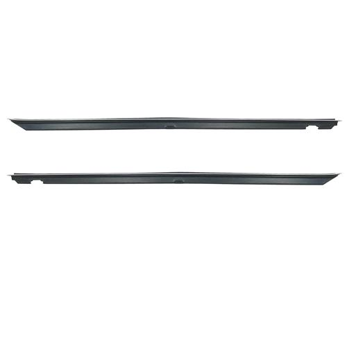 81-93 MUSTANG INNER DOOR BELT WEATHERSTRIP PAIR, COUPE/HATCHBACK ALSO FITS 81-88 T-TOP AND CONVERTIBLE BEFORE 10/87