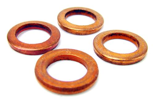 Mustang Brake Caliper Banjo Bolt Copper Washers (79-14)