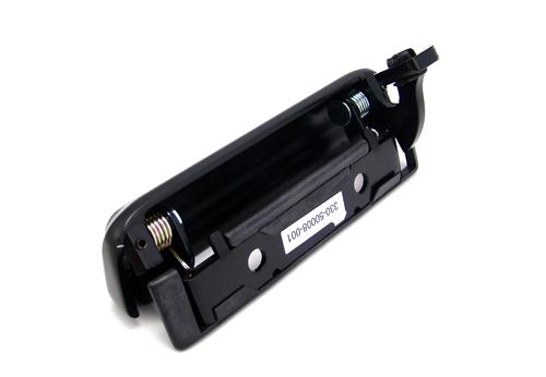 Mustang Outer Door Handle w/ Rivets, RH Black (79-93)