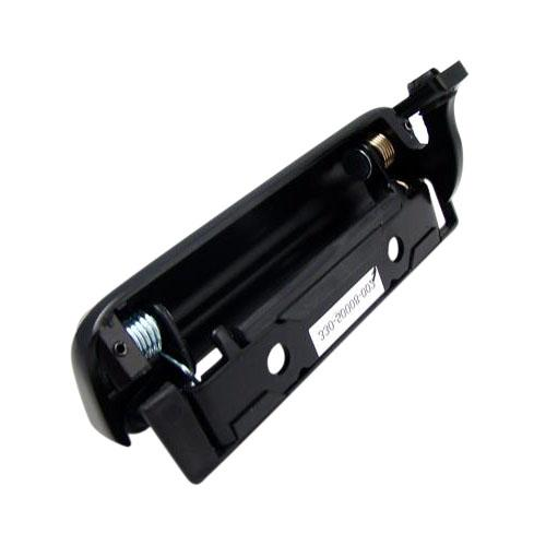 Mustang Outer Door Handle w/ Rivets, RH Black (79-93) - Picture of Mustang Outer Door Handle w/ Rivets, RH Black (79-93)