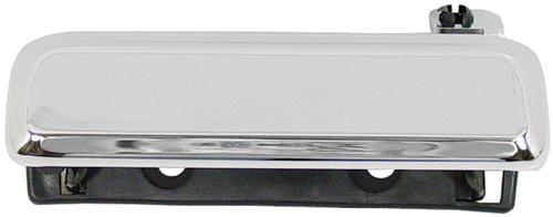 Mustang Outer Door Handle, LH Chrome (79-93)