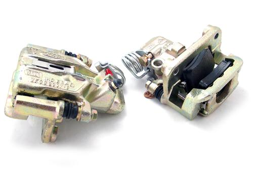 Mustang Rear Brake Calipers, Pair, Loaded (94-04) GT
