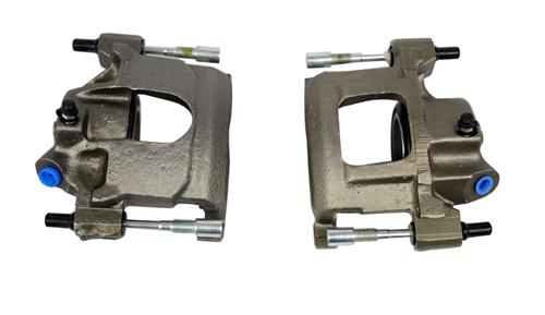 Mustang Front Brake Caliper Pair, Semi Loaded (83-86) 5.0