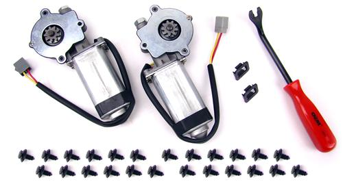 Mustang Front Window Motor Kit (83-93) Convertible