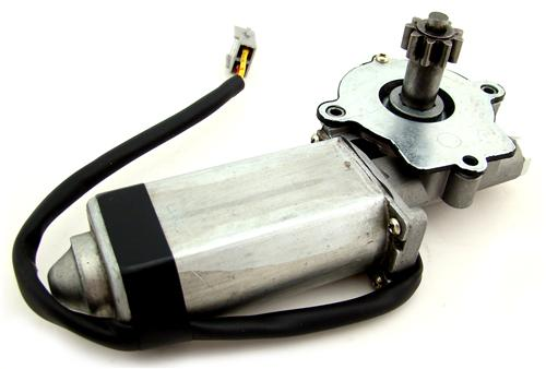 83-93 MUSTANG LH CONVERTIBLE QUARTER WINDOW MOTOR