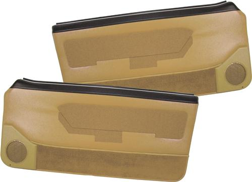Mustang Deluxe Door Panels for Convertible w/ Power Window Sand Biege (88-89)
