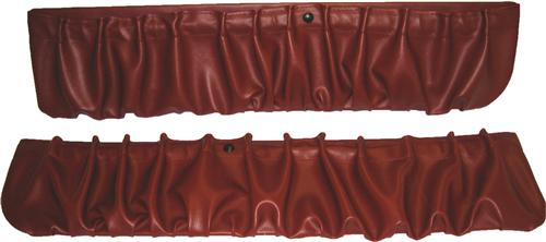 TMI Mustang Door Panel Map Pockets Scarlet Red (90-92)