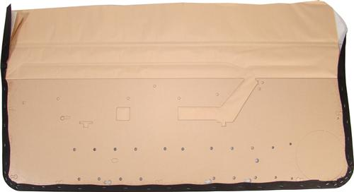 Mustang Door Panels Black (87-93)