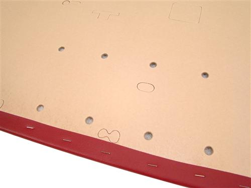 Mustang Door Panels Scarlet Red (87-91)