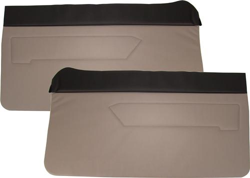 Mustang Door Panels Titanium Gray  (90-92)