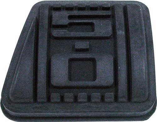 79-93 MUSTANG 5.0L LOGO CLUTCH PEDAL PAD, 5 SPEED