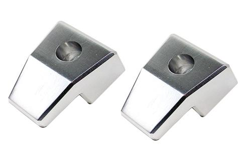 Mustang Brushed Aluminum Coat Hooks (05-12)