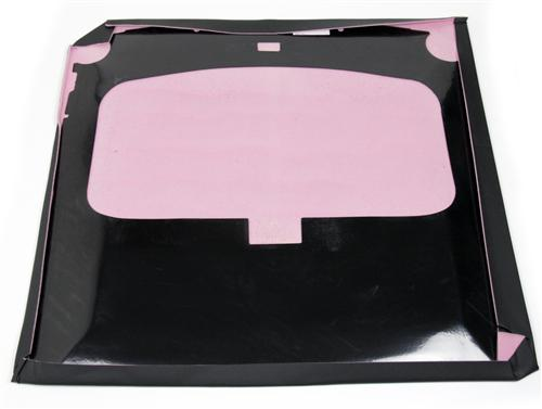 Mustang Sunroof Headliner w/ Abs Board Black Vinyl (79-82) Hatchback - Picture of Mustang Sunroof Headliner w/ Abs Board Black Vinyl (79-82) Hatchback