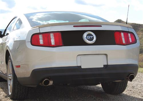 Mustang Magnetic Deck Lid Blackout Panel Black (10-12)