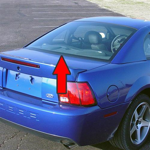 Mustang Rear Lower Glass Molding (94-04)