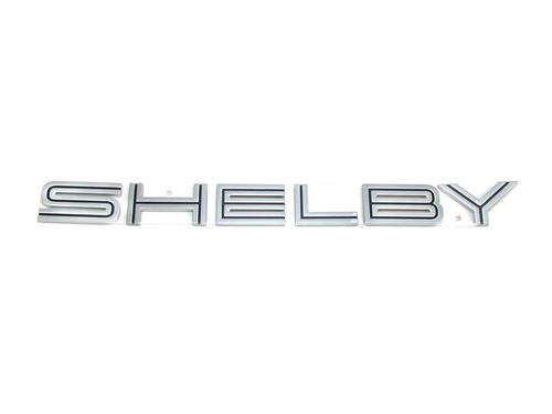 Mustang GT500 Shelby Name Plate Deck Lid Emblems (07-09)