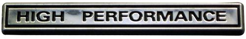 High Performance Emblem