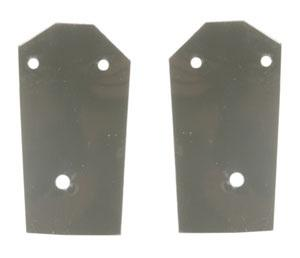 83-93 MUSTANG CONVERTIBLE TRUNK HINGE TO TRUNK LID MOUNTING GASKET PAIR
